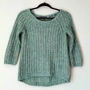 Anthropologie chunky knit sweater